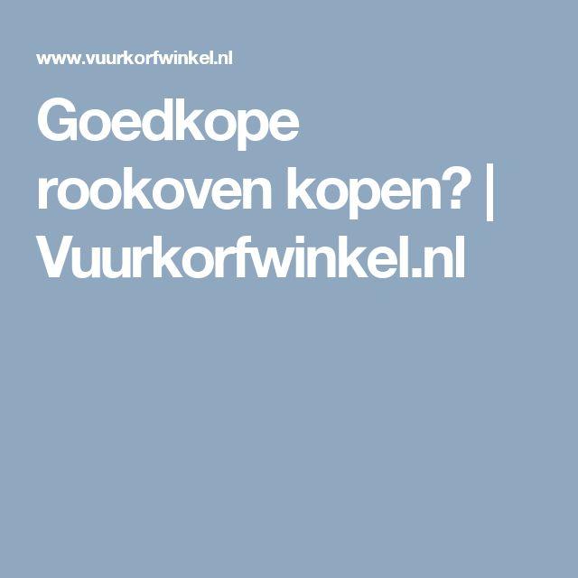 Goedkope rookoven kopen? | Vuurkorfwinkel.nl