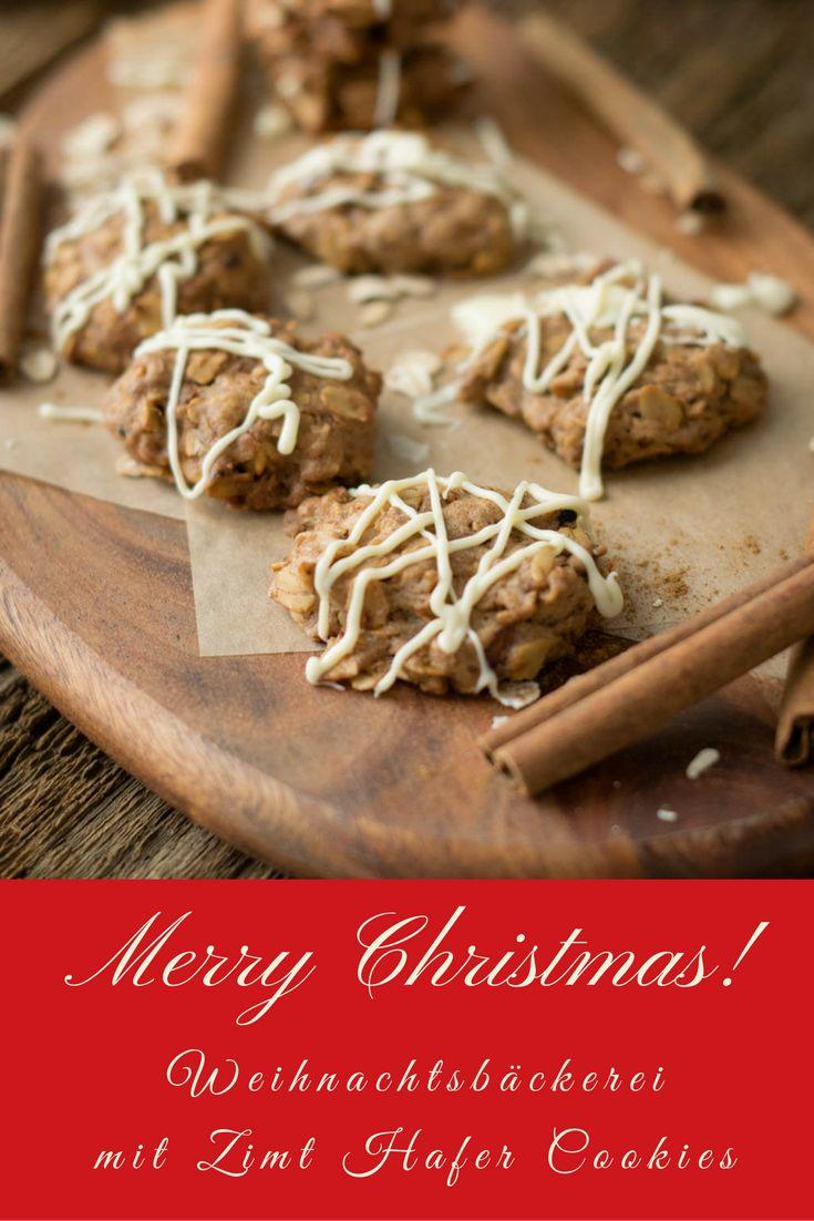 Diese Zimt Hafer Cookies duften wunderbar nach Zimt und schmecken köstlich