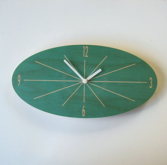 Objectify Oval Classic Wall Clock