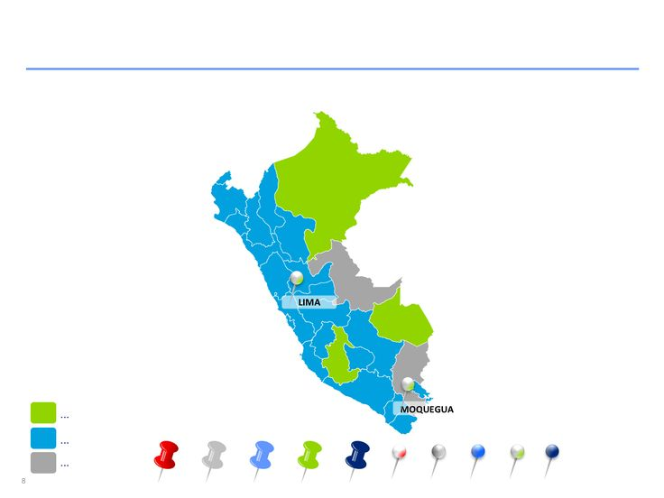 Descarga ahora Mapas de Perú editables en Power Point
