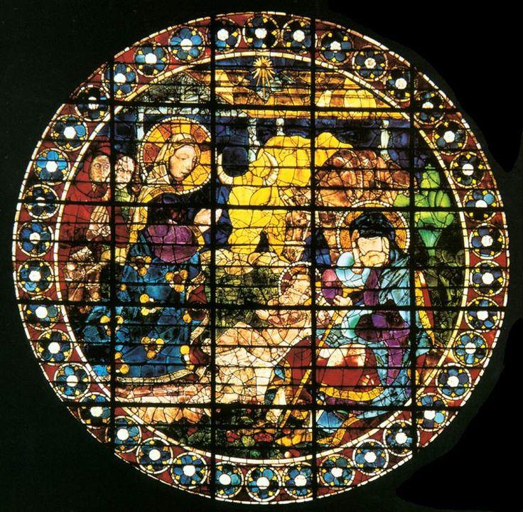 Ecco come Paolo Uccello aveva interpretato l'Adorazione dei Magi in una delle vetrate della Cattedrale