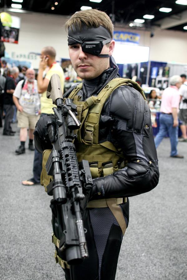 Metal Gear Halloween Costume In Metal Gear Solid Kazuhira Miller