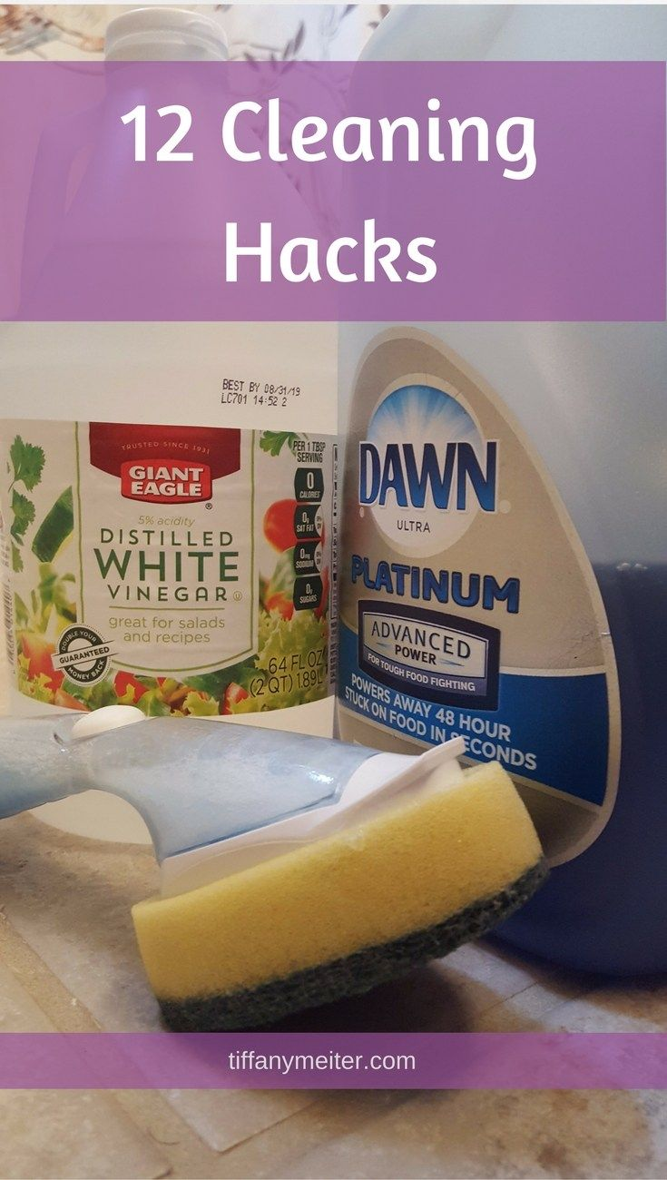 Cleaning Hacks, Cleaning Tips!