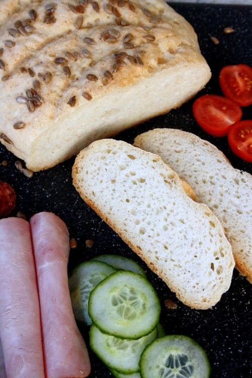Napraforgómagos kenyér