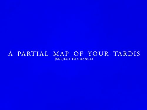 Amazing 17 page map of the TARDIS interior (It is MUCH bigger on the inside!)