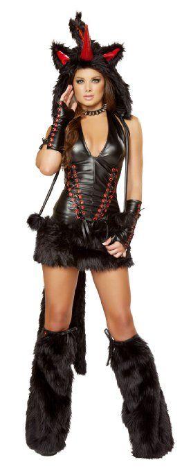 JLJV Black Magic Unicorn Women's Halloween Costume