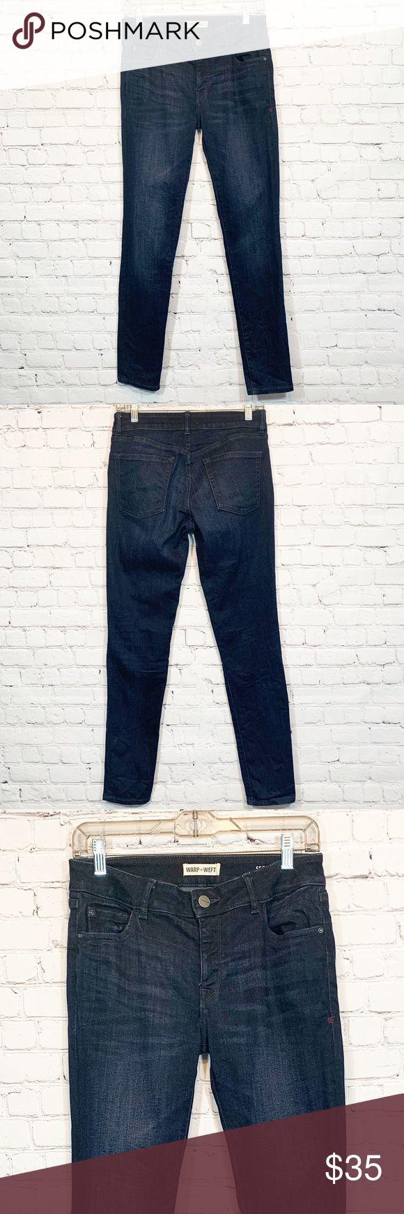 Warp + Weft SFO Skinny 27×30 Jeans Stitch Fix Warp…