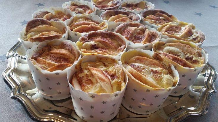 Eplekake muffins