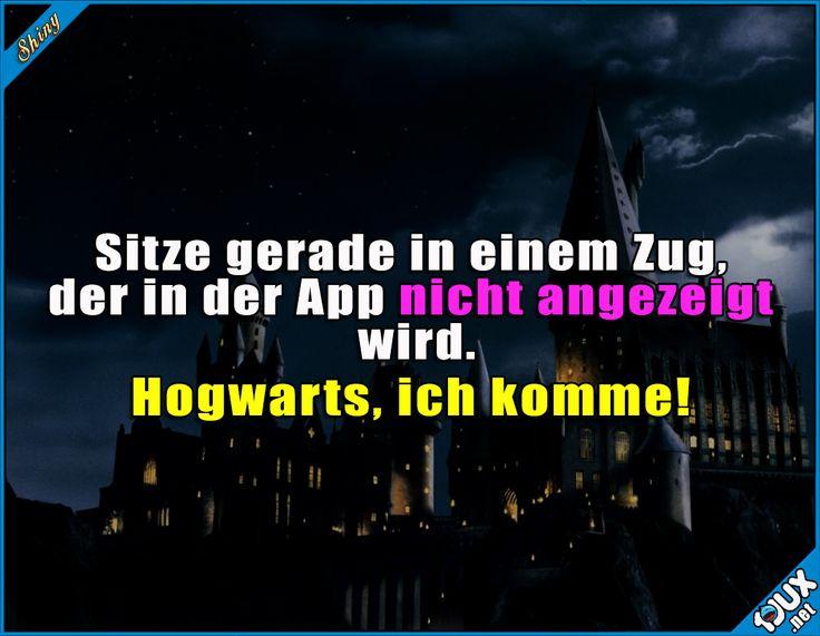 Endlich ist es soweit! :) #lustigeSprüche #lustigeBilder #Humor #Sprüche #Jodel #DeutscheBahn #Hogwarts #Potter #witzig #funny
