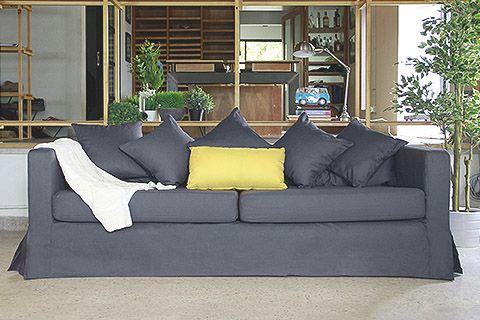 IKEA Sofa Covers - Comfort Works Custom Slipcovers  * sofe i prekrivači i još dosta za kuću tekstil za stolice, ....