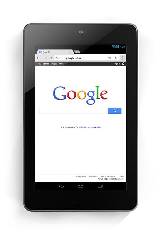 Google Nexus 7, el regalo de Navidad.
