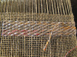 I went to my first weaving workshop, it was on transparency. Transparencies are supplementary weft inlay on a sheer background, usually plai...