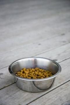 """Crunchy Dog Food: 6c flour: white, whole wheat or oat 1c powdered milk 3 L ggs 1/3c oil 2-1/2c milk, broth or water Additions:Shredded cheeses + cooked meats, pureed fruits or vegetables, peanut butter. Oven 350. Oil a cookie sheet. Combine flout & milk. Mix egg, oil & liquid.Mix both together into a thick, moist dough, stir in additions. Adjust with some liquid or flour to get a smooth consistency. Spread batter 1/2"""" thick.Bake 45 min until brown, firm to touch. Break it into bite-sized…"""