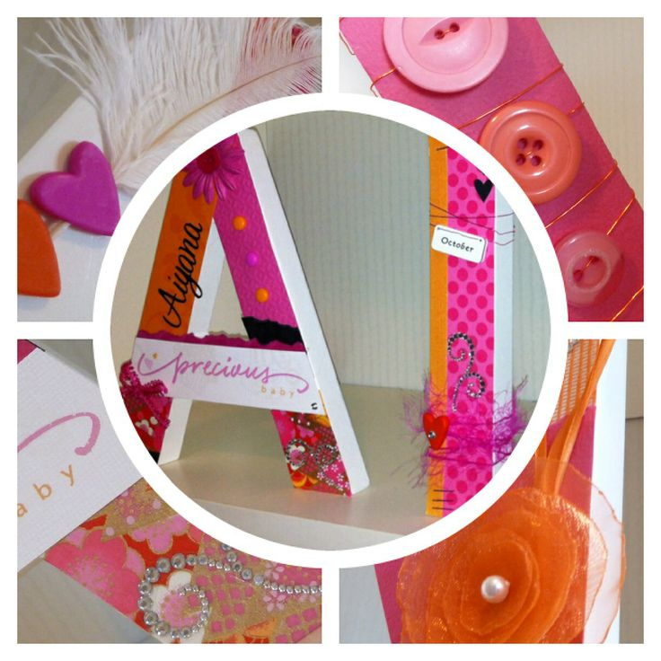 Custom made wooden letters for nursery or children's room? Contact me on facebook or these are available in my etsy shop: www.etsy.com shop is called Spendlifeliving  https://www.etsy.com/shop/SpendLifeLiving?ref=search_shop_redirect www.facebook.com/howtoSpendLifeLiving