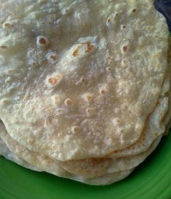 If you have never made homemade tortillas, you have got to give these a try! They put the store bought ones to shame, they taste amazingly authentic and fresh, the perfect amount of softness and...