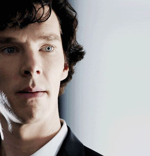 "Benedict Cumberbatch/ Sherlock, gif, pinned from my new board : ""The Best of Benny "" : http://pinterest.com/aggiedem/the-best-of-benny/"