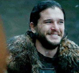 Jon Snow (6x10) He has that look of finally knowing something.