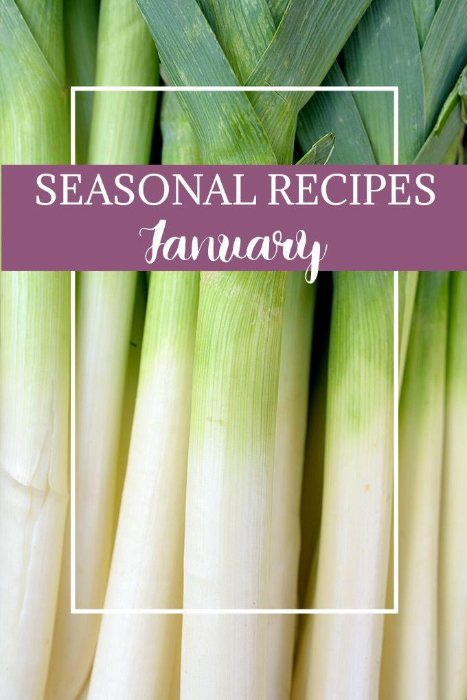 Stock up on January's produce, and try these unique and delicious seasonal recipes! via /easyasapplepie/