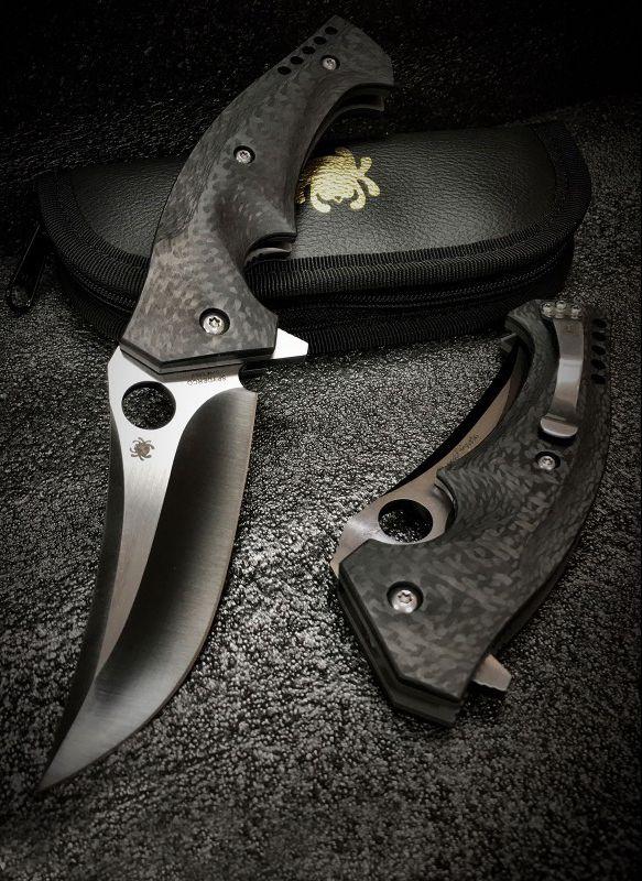 Spyderco Brend-Pirela Mamba Folding Pocket Knife Blade @thistookmymoney