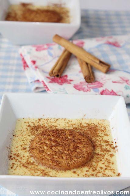 Cocinando entre Olivos: Natillas caseras. Receta paso a paso