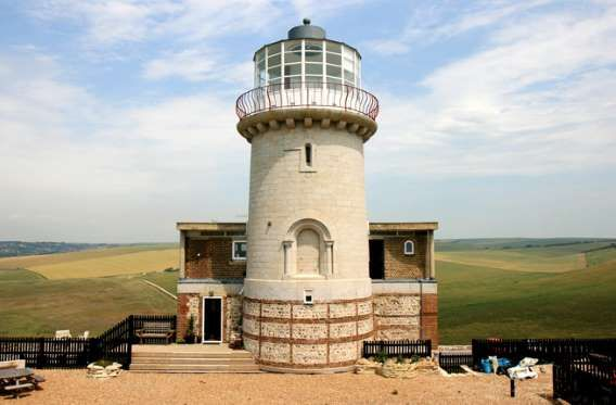 Where: East Sussex, EnglandThis decommissioned lighthouse, originally built in 1832, is located at B... - Belle Tout Lighthouse