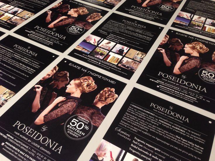 To νέο έντυπο της Poseidonia Hair Works by Loizos Ioannou Hair Salon! Σας ευχαριστούμε για την προτίμηση και την πολύχρονη συνεργασία. #PAZLE_CREATIVE #PAZLE #POSEIDONIA #POSEIDONIA_HAIR_WORKS