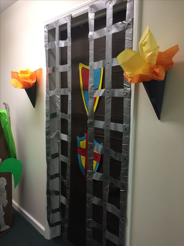 Over the Moat VBS Medieval theme decorations
