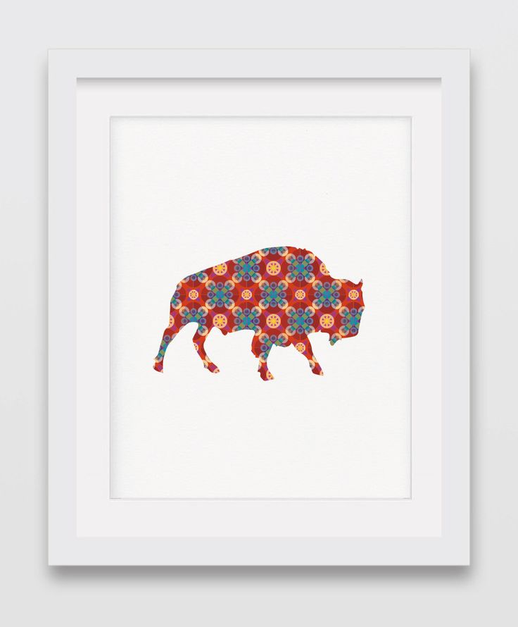 A personal favorite from my Etsy shop https://www.etsy.com/listing/247949857/buffalo-print-geometric-art-geometric