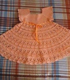 Crochet Baby Dress crochet patterns...