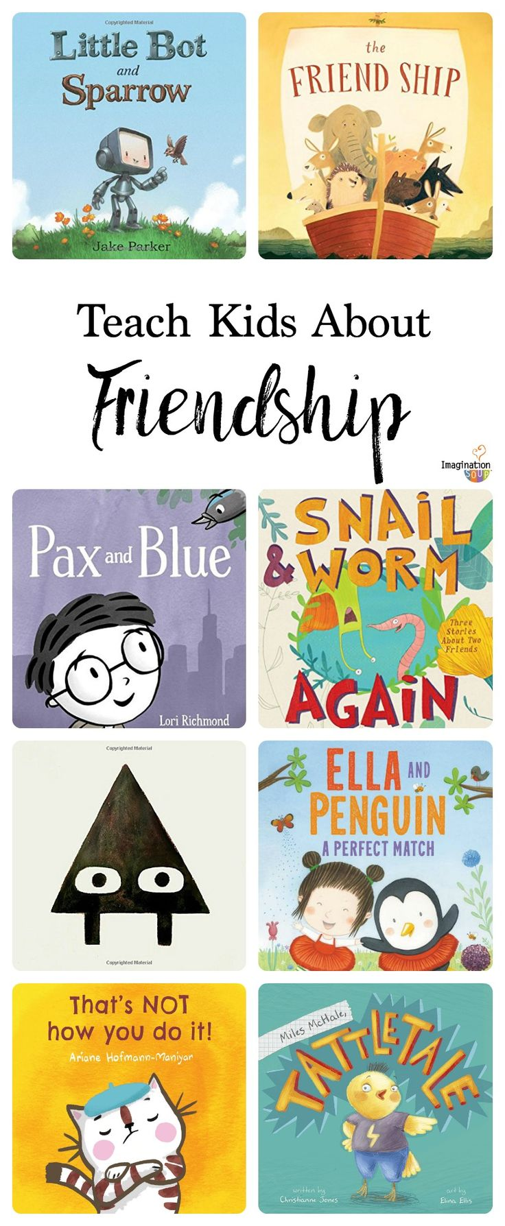 picture books that help teach kids about friendship