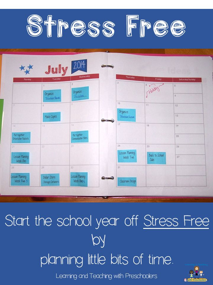 Begin the school year stress free.  All you need to do is plan little bits of time.  Stop by to grab your FREE post it note temple for planning your magic.