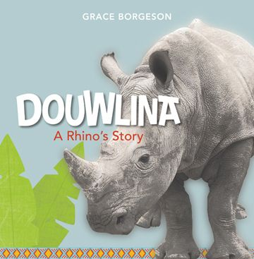 "Douwlina tells the inspirational story of an orphaned rhino in South Africa. When her mother is killed by poachers, Douwlina is raised in a shelter in South Africa. There, people and other animals love and care for her until she is ready to live with her own kind again. Funds from this book go to ""Care for Wild Africa"" and other groups working to stop Rhino poaching."