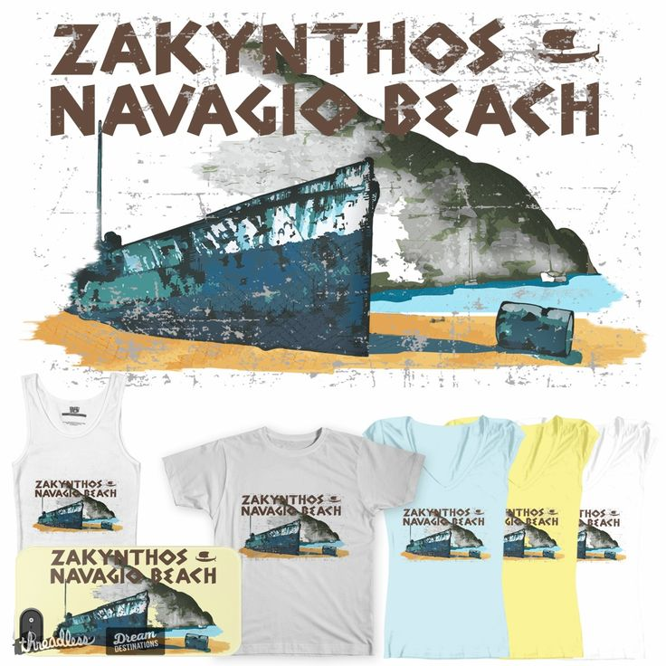 Zakynthos on Threadless