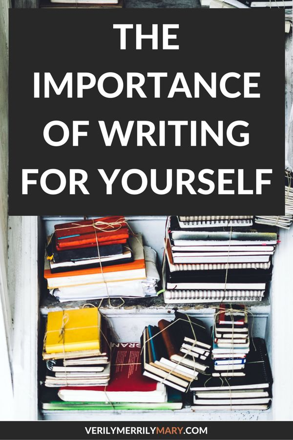No matter where you write, it is important that you don't forget the benefits and the importance of writing for yourself. Click through to read about one writer's fear and how writing for herself made that fear go away.