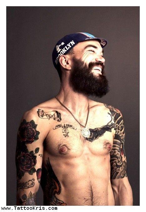 old men tattoo - Google Search