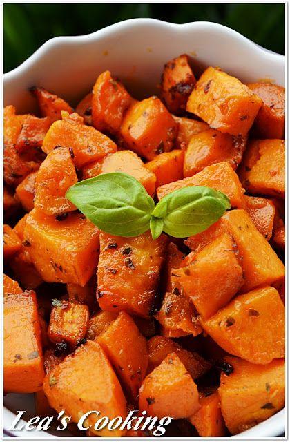 Lea's Cooking: Garlic Roasted Yams