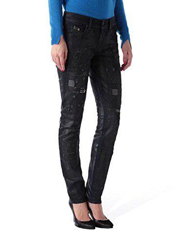 abea4ffaade5a Diesel Francy 0847M pantalon stretch jeans femmes Skinny Zen et détente  (W27/L32 Bleu