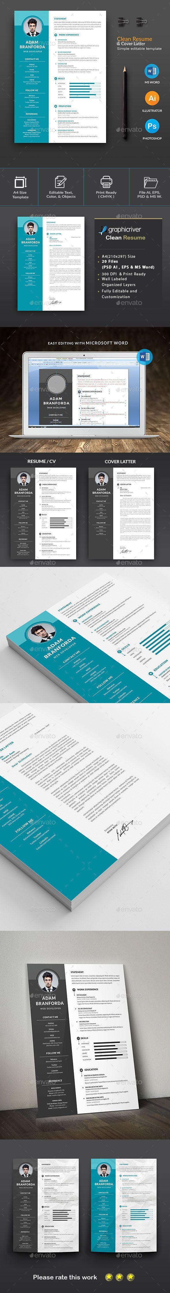 The CV Resume 599 best CvResumesPortfolio