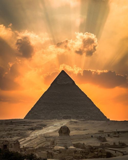 Pyramid Sunset.