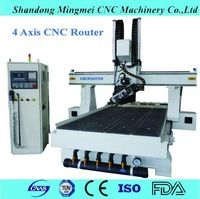 Big discount 4 axis cnc milling router carving machine price for plywood…