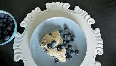 BLUEBERRY ALMOND SCONES | Bread and Muffins | Pinterest