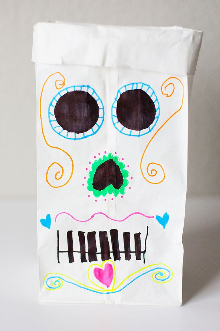 17 best dia de los muertos images on pinterest day of for Day of the dead crafts for preschoolers