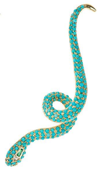 Nikos Koulis Medusa collection ear cuff