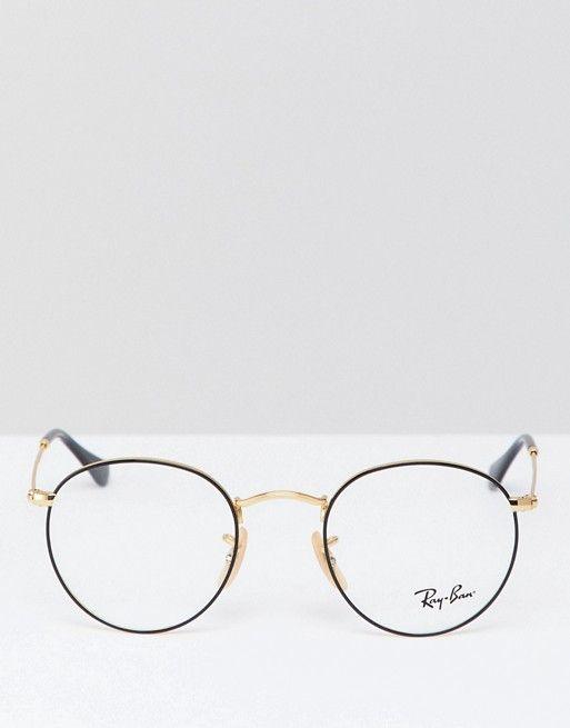 4c80a47f499 Brille l Glasses l Lenses l Ray-Ban Round Glasses 0RX3447V at asos ...