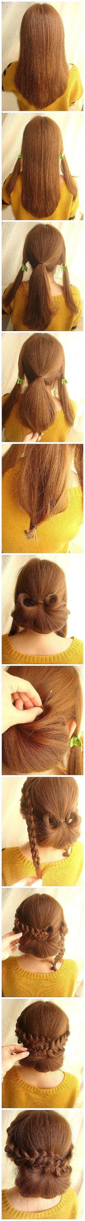 1860's hair styling. by winnie