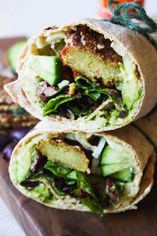 Mediterranean Pesto Wrap        We're still trying to keep the New Year reasonable healthy, and have been munchin' on this wrap for about a week now. We had to share. Simple in construction, the flavo