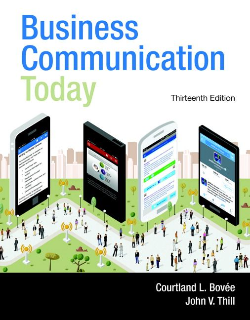 Bovee & Thill Business Communication Today
