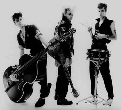 Stray Cats, saw them for free at a 4th of July concert here in downtown San Antonio MANY moons ago.