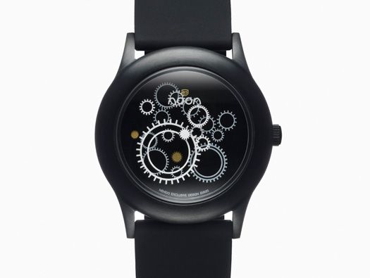 Dark Noon Watch by Nendo