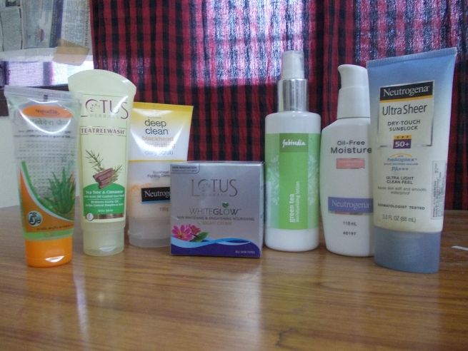 Sunburn Skin Care Routine, summer